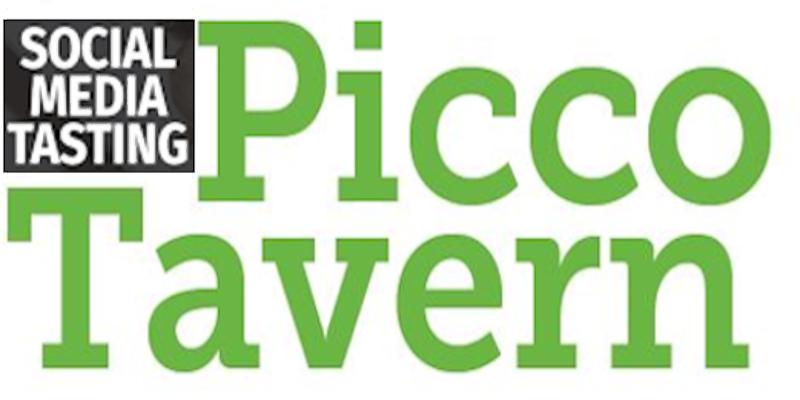 SOCIAL MEDIA TASTING // PICCO TAVERN