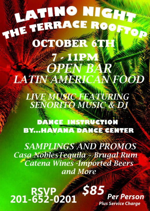 Latino Night at The Terrace in Paramus